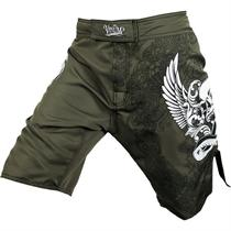 Venum Voodoo Army Green MMA Fight Shorts